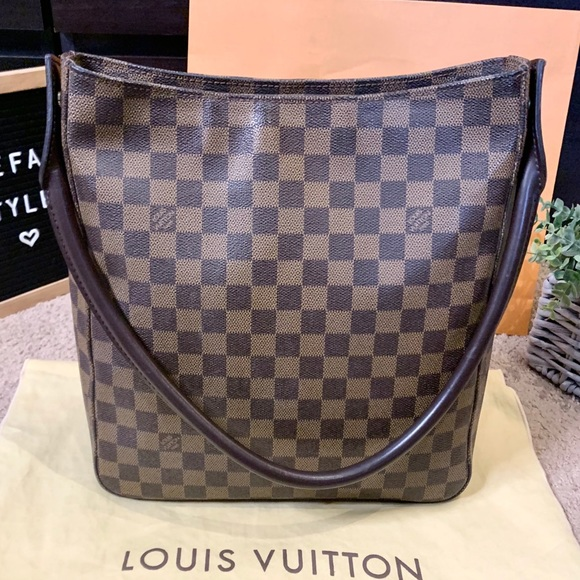 Louis Vuitton Handbags - Louis Vuitton Looping GM Damier Ebene Shoulder Bag